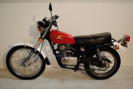 honda xl 125 moto classics. Black Bedroom Furniture Sets. Home Design Ideas